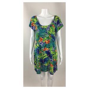 Jams World Jungle Pattern Dress SZ M
